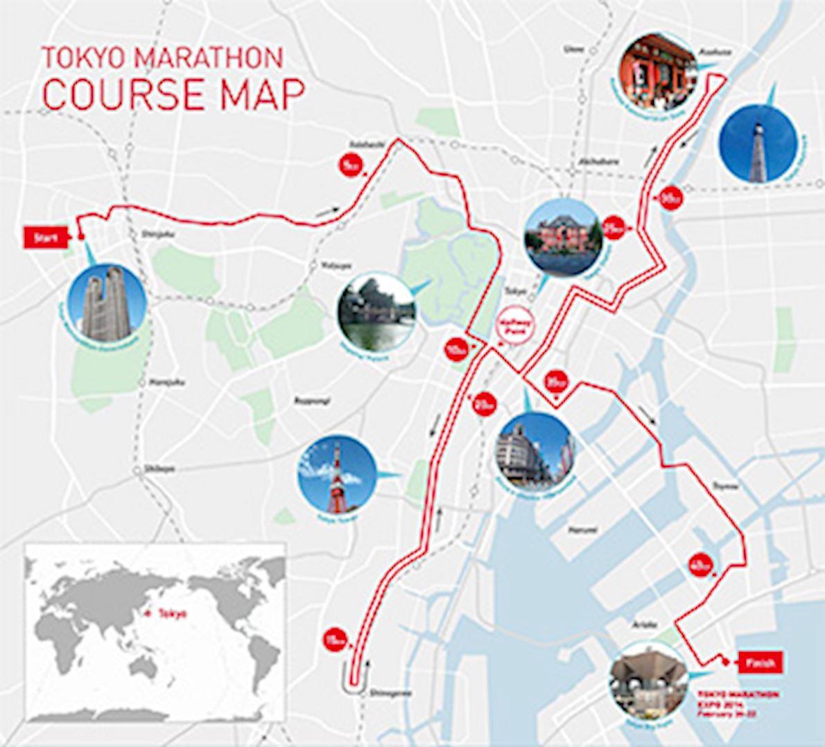 Tokyo Marathon Logo Design